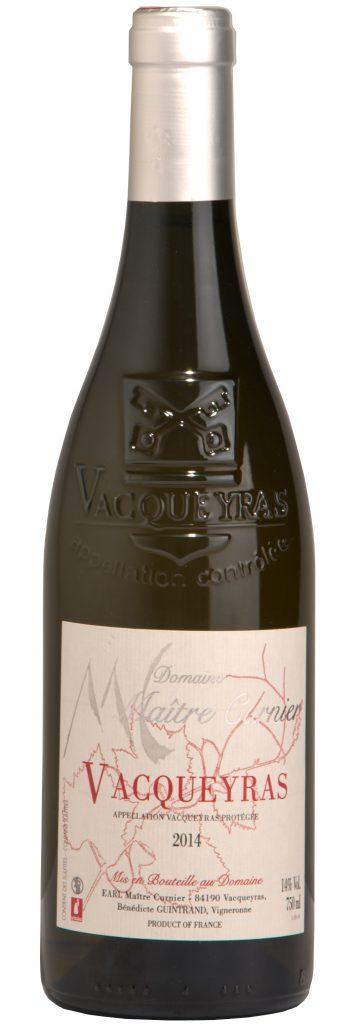 Maître Curnier - Domaine Vacqueyras - AOP Vacqueyras blanc