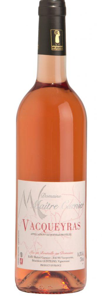 Maître Curnier - Domaine Vacqueyras - Vacqueyras rosé - Vin Vacqueyras