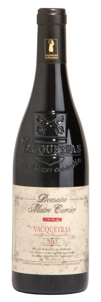 Maître Curnier - Domaine Vacqueyras - Vin Vacqueyras - Vacqueyrs rouge