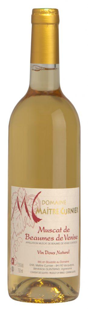 Maître Curnier - Domaine Vacqueyras - Vin Beaumes de Venise - Muscat Beaumes de venise