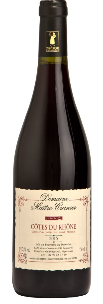 Maître Curnier - Domaine Vacqueyras - Vin Vacqueyras - Cotes du Rhône